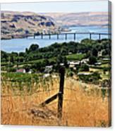 Panoramic Columbia River  Canvas Print