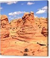 Panoramic Desert Landscape Fantasyland Canvas Print