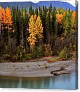 Panoramic Northern River Canvas Print
