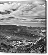Panoramic Of The Grand Canyon Canvas Print