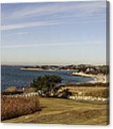 Panoramic Of Woods Hole  Canvas Print