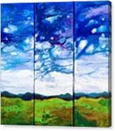 Panoramic Stormy Skies Canvas Print