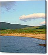 Panoramic View Of Country Cork, Ireland Canvas Print