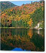 Panoramic View Of Crawford Notch State Canvas Print
