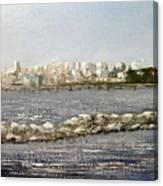 Panoramica Santander desde Raos Canvas Print