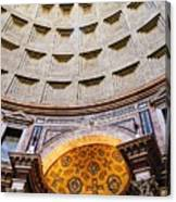 Pantheon Abstract Canvas Print