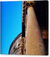 Pantheon Column Canvas Print