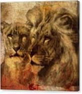 Panthera Leo 2016 Canvas Print