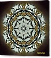 Panthera Tigris Kaleidoscope Canvas Print