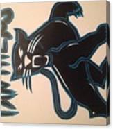 Panthers Nfl Logo Canvas Print