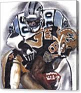 Panthers Vs Saints Canvas Print