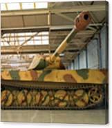 Panzer Vi Tiger Tank In Bovington, Uk Canvas Print