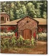 Paoletti  Estates Winery Canvas Print