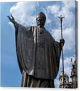 Papa Juan Pablo II - Mexico City II Canvas Print