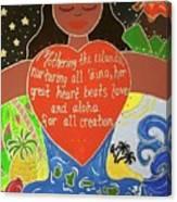 Papahanaumoku Canvas Print