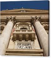 Papal Balcony Canvas Print