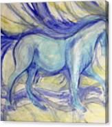Paper Boy Canvas Print