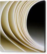 Paper Curl Canvas Print