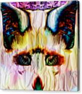 Paper Fox  Canvas Print