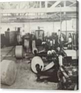 Paper Mill Canvas Print
