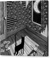 Paper Moon Canvas Print