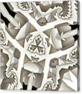 Paper Pattern Canvas Print