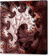 Paper Spiral Canvas Print