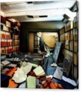 Papers Lodging - Luoghi Abbandonati Delle Passeggiate A Levante Deposito Carte  Canvas Print