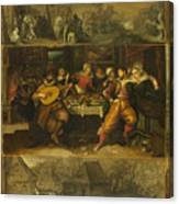 Parable Of The Prodigal Son Canvas Print
