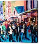 Parade For Joe Canvas Print