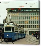 Paradeplatz Zurich Canvas Print