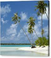 Paradise - Maupiti Lagoon Canvas Print