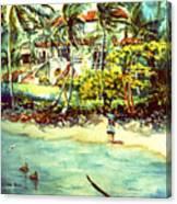 Paradise At Dorado Puerto Rico Canvas Print
