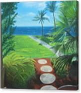 Paradise Beckons Canvas Print