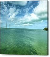Paradise On Earth, Florida Keys Canvas Print