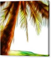 Paradise Palm Canvas Print