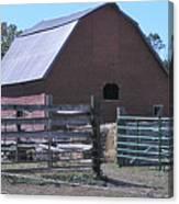 Paradise Valley Farm Montana Canvas Print
