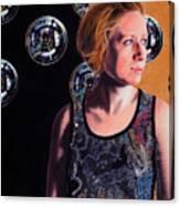 Parallel Spheres Canvas Print