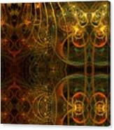 Parallel Visions Of Time   Canvas Print