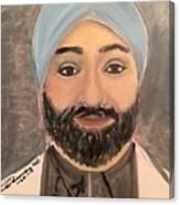 Paramjit S. Chopra M D Canvas Print