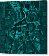 Paramount Turquoise Canvas Print