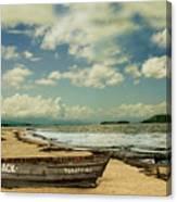 Paraty Beach, So. America Canvas Print
