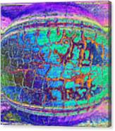Parched Earth Abstract Canvas Print