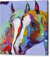 Pardners Canvas Print