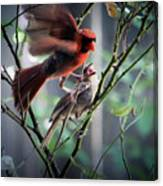 Parenting In The Wild Canvas Print
