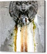 Paris - Waterfountain Canvas Print