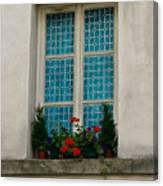Paris - Window Canvas Print