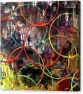 Paris Abstract Canvas Print