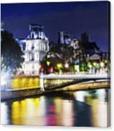 Paris At Night 22 Canvas Print