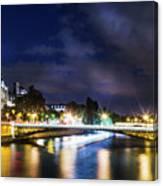 Paris At Night 23 Canvas Print